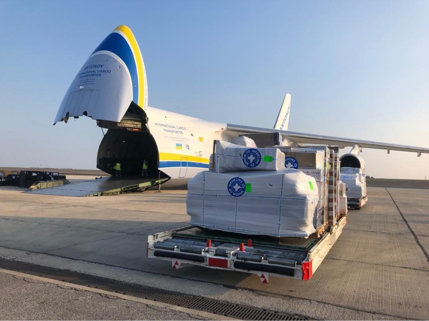 Antonov and Bolloré Logistics rushed to aid in Mozambique