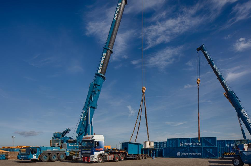 World's largest crane arrives in Bristol | Project Cargo Journal