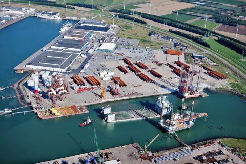 MHI Vestas at BOW terminal (MHI Vestas)
