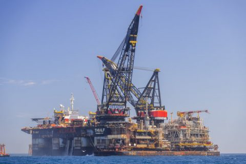 Heerema's Thialf wraps up Sable offshore facilities removal