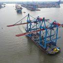 HHLA dispatches gantry cranes to Tallinn