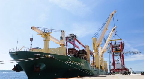 AAL delivers RTGs to Port of Oslo