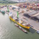 Fracht USA transporting transformers from Antwerp to North America