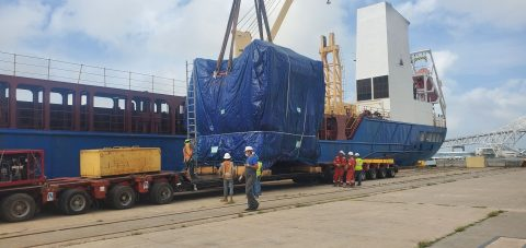 Hansa Meyer Global concludes project cargo delivery for Sinton steel plant