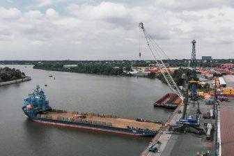 Rhenus replaces crane at Port of Hamburg to handle higher breakbulk volumes