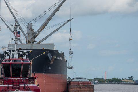 Port NOLA wraps up breakbulk discharge