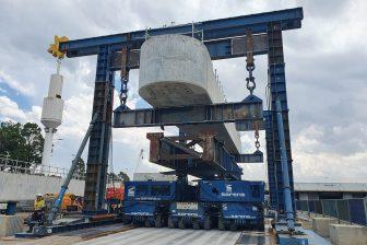 Sarens transports, installs tunnel portals in Australia