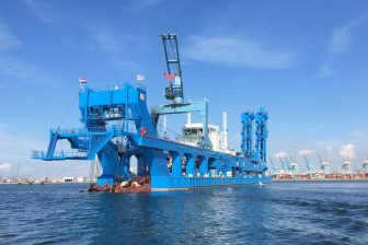 [VIDEO] Royal IHC-built CSD arrives in Suez Canal