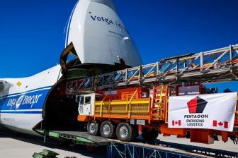 Volga-Dnepr flies project cargo to Oman for Canadian partner