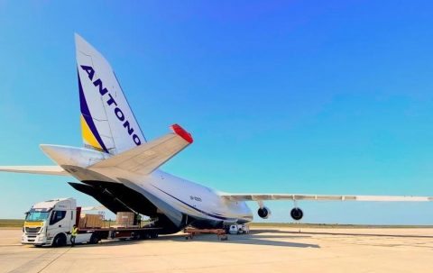 Antonov Airlines flies oversized mining gear to Argentina