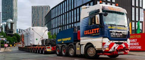 Collett handles transformer delivery for National Grid