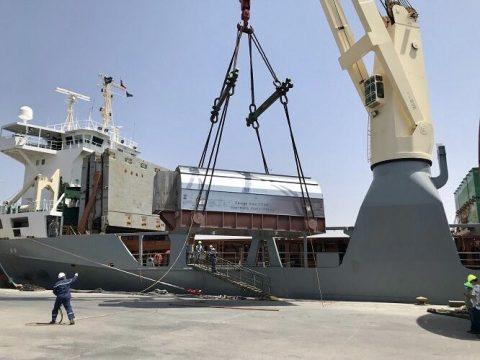 DAKO discharges Tripoli West project cargo in Libya
