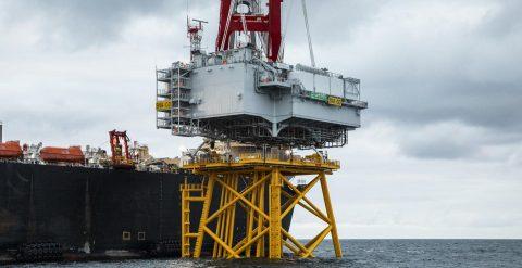 DEME concludes OSS heavy lift job at Saint-Nazaire OWF