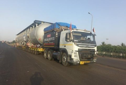 EXG hauls project cargo from Gujarat to Rajasthan