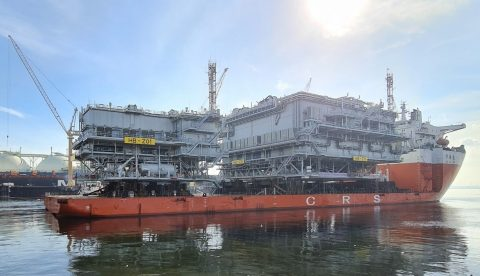 Hornsea Two substations depart Singapore