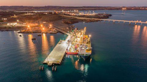 Jumbo Jubilee completes project cargo transshipment in Australia