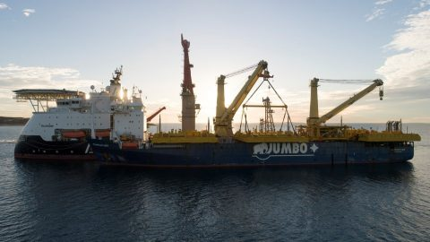 Jumbo-SAL-Alliance completes transshipment for Gorgon stage two