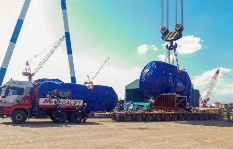 Megalift hauls 360 tons of project cargo