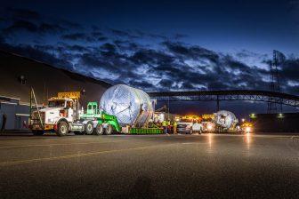 Omega Morgan hauls heavy load for a tech company