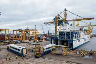 Petrolesport wraps up Sapsan trains transhipment