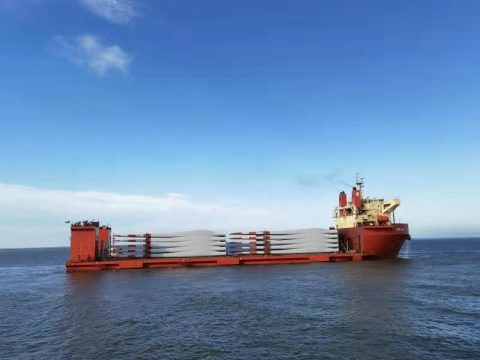 SAL Heavy Lift pushes its limits with blades latest shipping op
