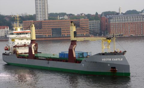 Vectis Castle joins Koga Shipping's breakbulk fleet
