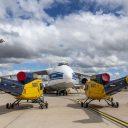 Volga-Dnepr Airlines flies water-bombers to Greece