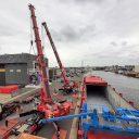 Wagenborg completes heavy-lift for Wärtsilä and Heerema in IJmuiden