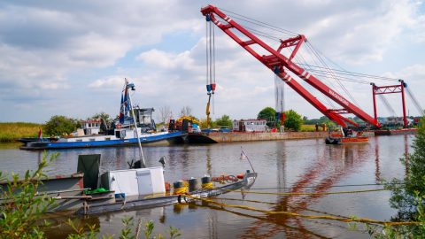 Wagenborg concludes heavy lift salvage in Germany