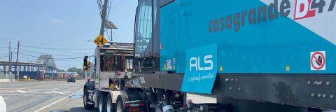 200-ton slurry system machine arrives in USA