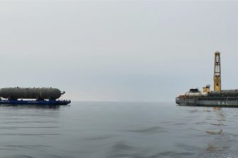 Amur GPP project cargo on site