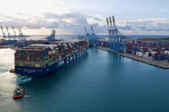 CMA CGM caps spot freight rates increase