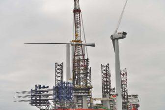 DEME wraps up Triton Knoll wind turbine installation