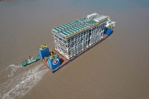 First Arctic LNG 2 modules arrive in Russia