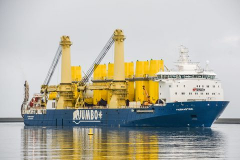 Jumbo Maritime wraps up Hornsea Two project cargo deliveries