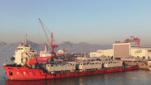 One year in the making shipping project cargo from China to West Africa
