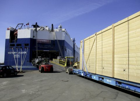 Paper mill cargo completes ocean voyage to China