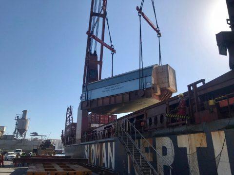 Tripoli West project cargo unloaded in Libya