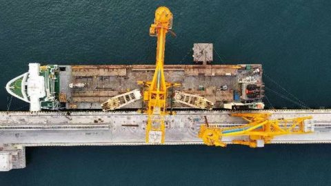 Two 1,300-ton CSUs complete the journey to Turkey