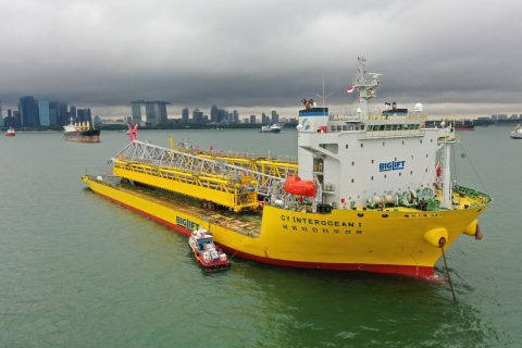 Tyra redevelopment flare heads to Europe