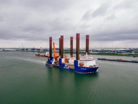 Van Oord to start monopiles installation at Taranto OWF in Italy