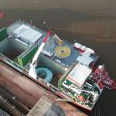 Wagenborg ships project cargo to Brazil