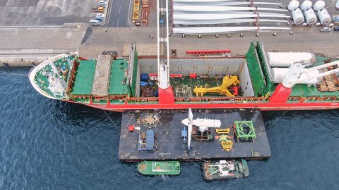 dship Carriers delivers tidal energy project cargo to Japan