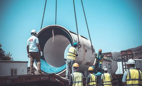1,306-tons of TBM gear sails from Jeddah to Rotterdam
