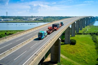 Allelys shunts 184-ton transformer from Ipswich to Burwell