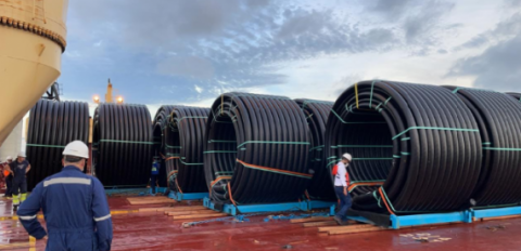 Anker Logistica handles flexsteel pipe delivery to Colombia