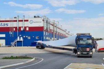 Barrus wraps up wind turbine components transport in Russia