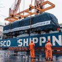 Cargo delivered for the first Egyptian electric railways project