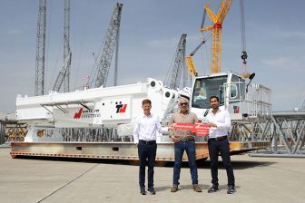 Colombian contractor gets Liebherr crane for wind turbine installations