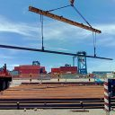 EXG delivers 6,099 tons of rails for Namma Metro